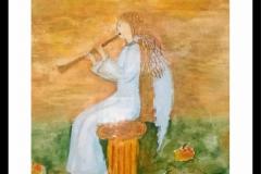 anioł-muzykujący